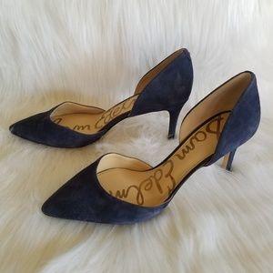 Sam Edelman Telsa d'Orsay Blue Pump Size 9.5